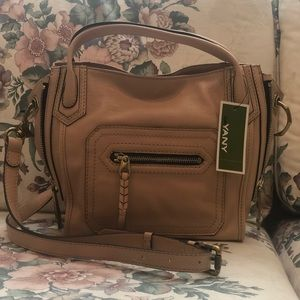 orYANY crossbody almond purse